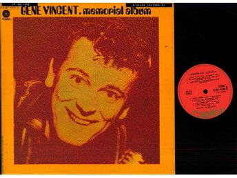 GENE VINCENT - MEMORIAL ALBUM - GF - 2-LP