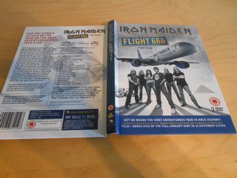 DVD - Iron Maiden - FLIGHT 666 -  2 DISC