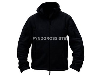 Fleecejacka Herr Military Outdoor Thermal Svart Strlk XXL Fri Frakt Ny