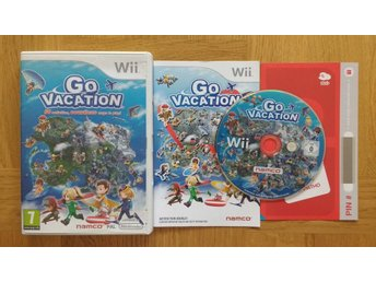 Nintendo Wii: Go Vacation