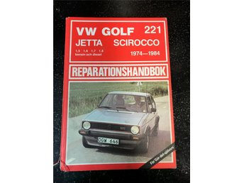Thorsells rephandbok nr 221 VW GOLF