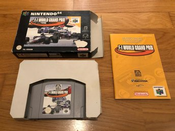 F-1 World Grand Prix CIB - N64
