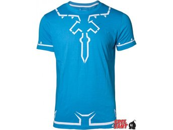 Nintendo Zelda Breath of The Wild Outfit Blå (X-Large)