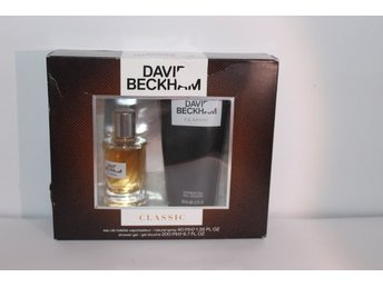 David Beckham Classic Set,EdT 40 ml + Shower Gel 200 ml