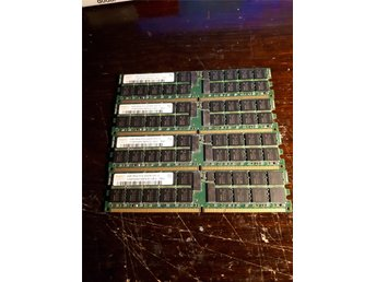 Hynix 8GB 4x2GB 2Rx4 PC2-3200R Server Memory HYMP525R72BP4-E3 AB-A