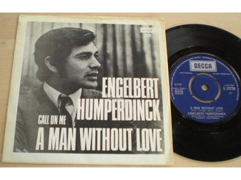 Engelbert Humperdinck 45/PS A man without love 1968 VG++