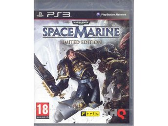 WARHAMMER 400000 - SPACE MARINE LIMITED EDITION ( INPLASTAT PS 3 SPEL )