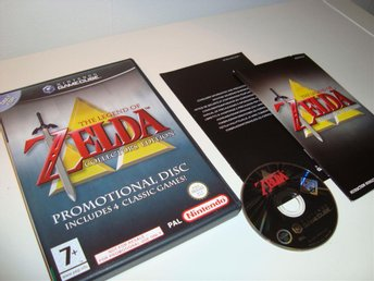 Gamecube - The Legend of Zelda: Collector's Edition (Collectors Ed) - Fint skick