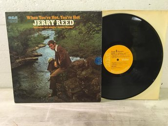Jerry Reed - When You´re Hot, You´re Hot UK Orig-71 EX!!!!!