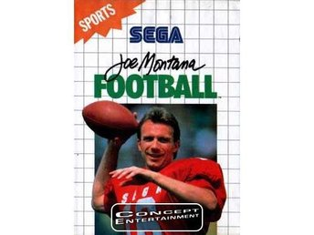 JOE MONTANA FOOTBALL (i box) till Sega Master System
