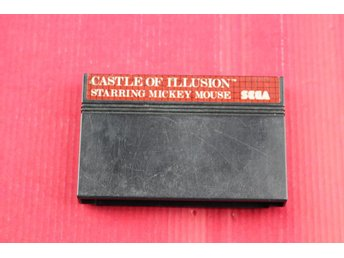 CASTLE OF ILLUSION till Sega Master System