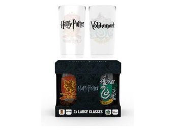 Harry Potter Drickglas Crests 2-pack