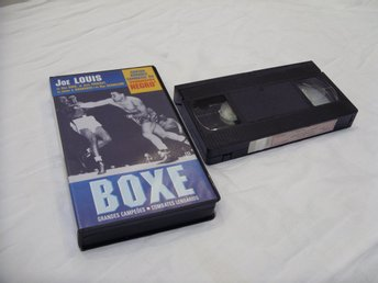 Boxe nr 16 Joe Luis vs Max Baer, Jack Sharkey VHS Boxning PAL