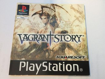Vagrant Story , Original utgåva,  PS1 PAL