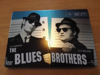 The Blues Brothers, Collectors Edition 2-disc. STEELBOOK. Nyskick!