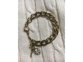 Fossil charm armband nyckel hjärta guld i rostfritt stål - Stockholm - Fossil charm armband nyckel hjärta guld i rostfritt stål - Stockholm