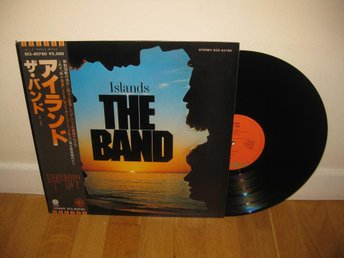 THE BAND - Islands LP 1977 / Japan / Robbie Robertson