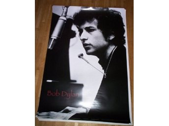 BOB DYLAN poster affisch NY, blues folk country Rock legend