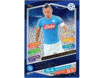 2016-17 Topps Champions League NE MM13 Marek Hamsik SSC Napoli Man of the Match - Linghem - 2016-17 Topps Champions League NE MM13 Marek Hamsik SSC Napoli Man of the Match - Linghem