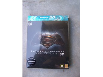 BATMAN v SUPERMAN Dawn of justice ny inplastad 3D blu-ray