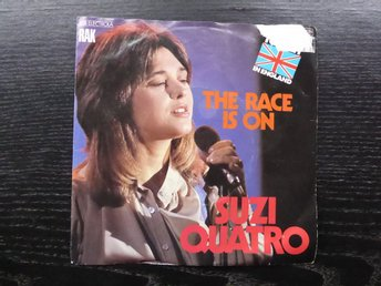 "SUZI QUATRO - The race is on  7"" singel"