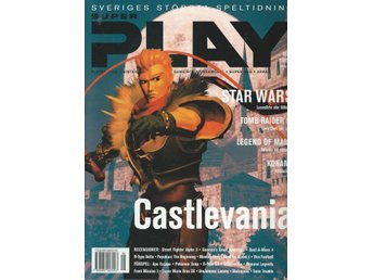 SUPER PLAY,  MAJ  1999 - STAR WARS , CASTLEVANIA  ...