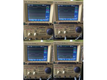 YOKOGAWA DL1740 4 chanel 500MHz 1GS/s Japanese Quality Oscilloscope