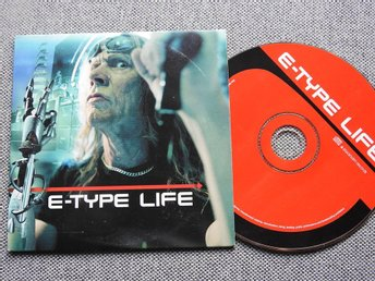 E-Type - Life CD Singel (Pappfodral)