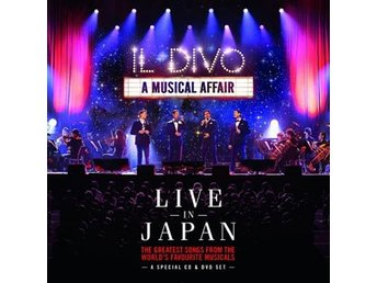 Il Divo: A musical affair/Live in Japan 2014 (CD + DVD)