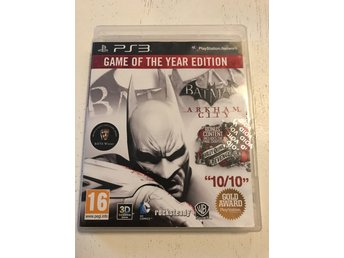 Batman arkham city ps3 spel play station 3