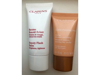 CLARINS Beaume Beauty Flash Balm och Extra firming Jour Anti -rides