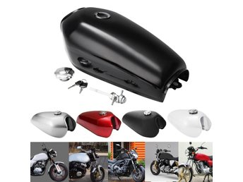 Motorcycle Cafe Racer Vintage Fuel Gas Tank With Tap For ...