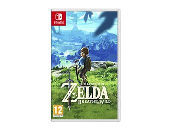Nintendo switch breath of the wild