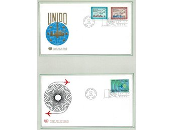 UNITED NATIONS, FN, 5 FDC 1967-68