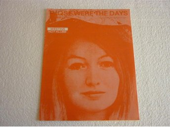 Notblad Nothäfte fr.1968 Mary Hopkin - Those Were The Days