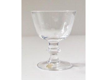 Glas i kristallglas fråm Kosta med etsad dekor - Norrköping - Glas i kristallglas fråm Kosta med etsad dekor - Norrköping