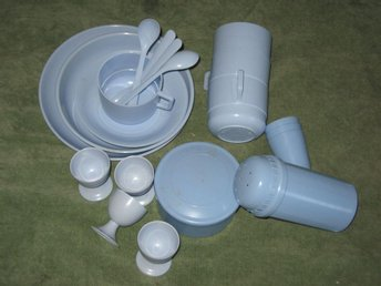 Retro plast-picknickset Mepal