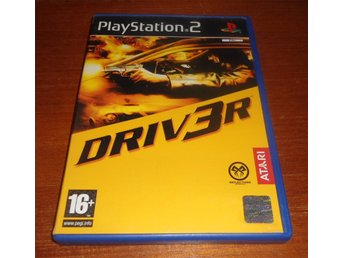 Driver 3 / Driv3r - PS2 / Playstation 2