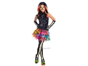 MONSTER HIGH Skelita Calaveras 5-7 år Helt set Klänning
