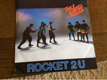 "THE JETS  - ROCKET 2U 7"" 1988. MCA 258 023-7"
