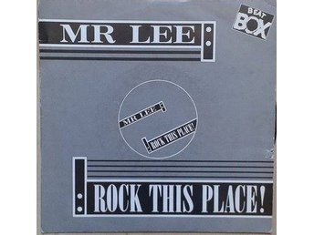 "Mr. Lee title* Rock This Place!* Acid House 7"" SWE"