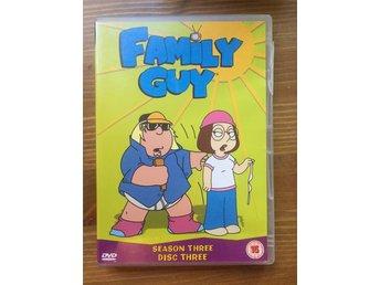 Family Guy Säsong 3 Mkt Bra Skick! - Bagarmossen - Family Guy Säsong 3 Mkt Bra Skick! - Bagarmossen