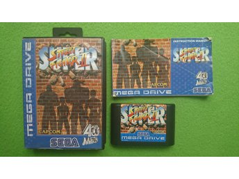 Super Street Fighter KOMPLETT Sega Megadrive
