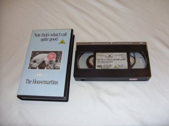 The Housemartins VHS PAL Engelsk Musik från 1988