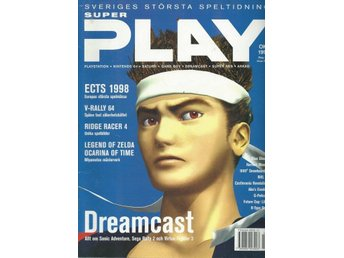 SUPER PLAY OKT  1998  -DREAMCAST...
