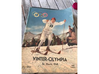 Magasin Vinter Olympia St Moritz 1948