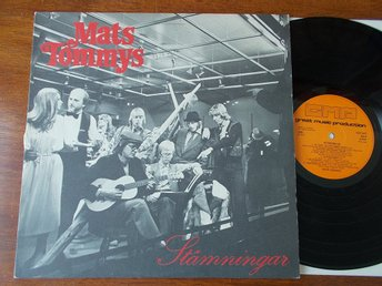 MATS TOMMYS - Stämningar, LP GMP 1979 Don Henley Eagles covers
