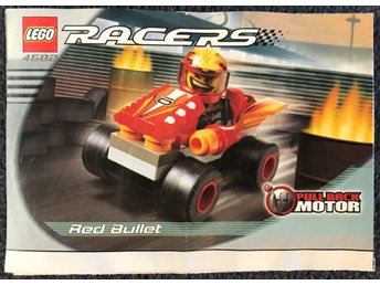LEGO Racers 4582 (Red Bullet) - Manual