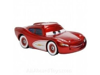 Cars Bilar Disney Pixar Mcqueen Crusin  Metall Original NY