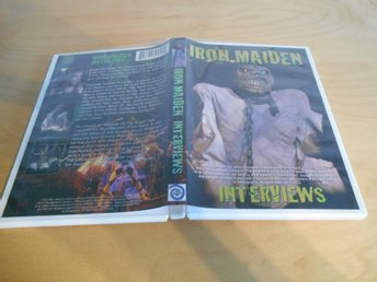 DVD - Iron Maiden - INTERVIEWS